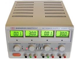 ספק כוח 0-30 וולט 0-3 אמפר כולל מודדים דיגטליים למתח ולזרם