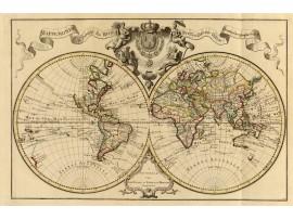 מפת ציוויליזציה סין והודו (נייר)