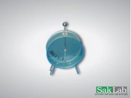 אלקטרוסקופ מחט עגול עם דפנות זכוכית